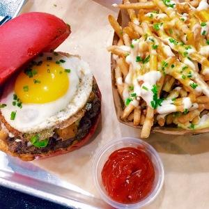 Juan & Only Burger and Parmesan Truffle Fries @ GD Bro Burger