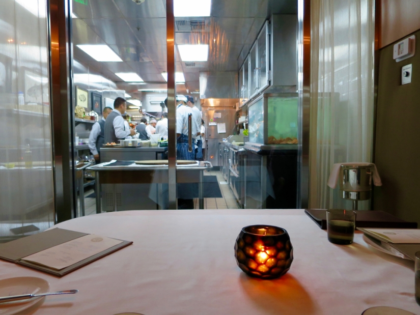 View from the Chef's table private dining room