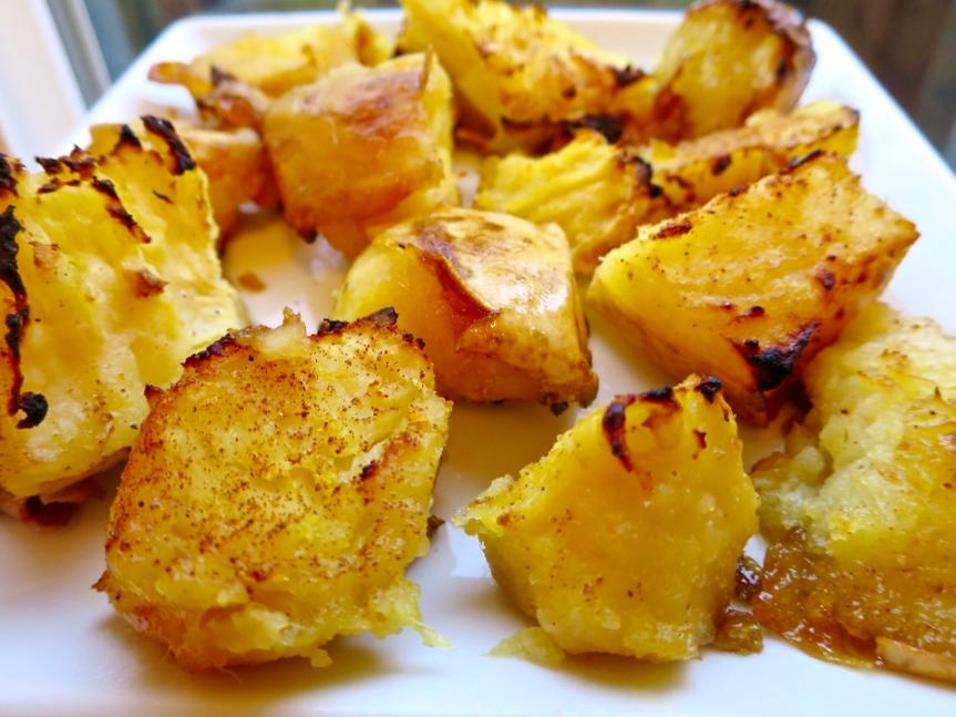 Roasted Honey Butter SweetPotatoes
