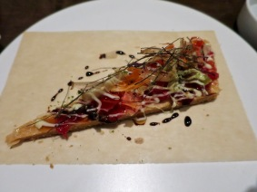 #12 tomato, seaweeds, pâte feuilletée