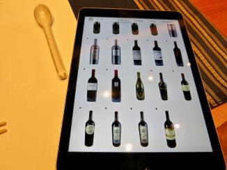 Impressive Wine List
