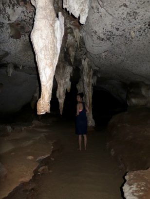 Stop 5: A cave in Ao Phang Nga - it was pitch black!