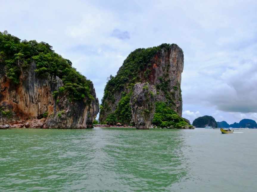 James Bond Island - we sailed by it but didn't go ashore.